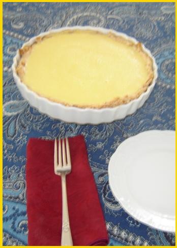 Cream Cheese & Lemon Tart